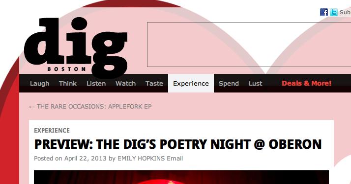 DigBoston Homepage