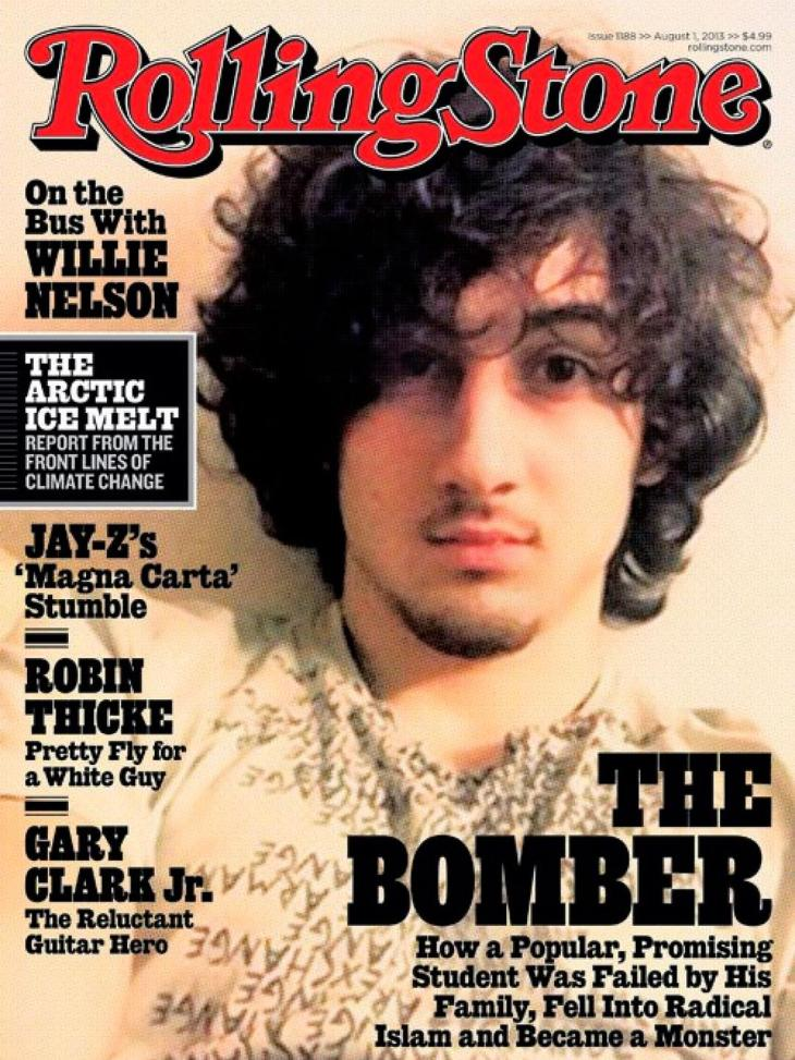 Rolling Stone Cover, August 1, 2013