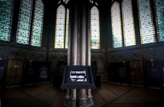Magna Carta Holy Grail in Salisbury Cathedral