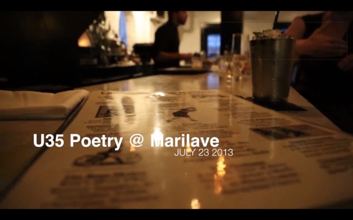 VIDEO: U35 Poetry Night @ Marilave