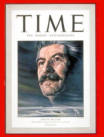 Josef Stalin, TIME Magazine (Jan 1943)