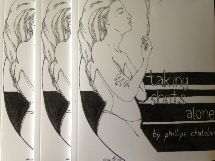 taking shots alone - paperback, now available
