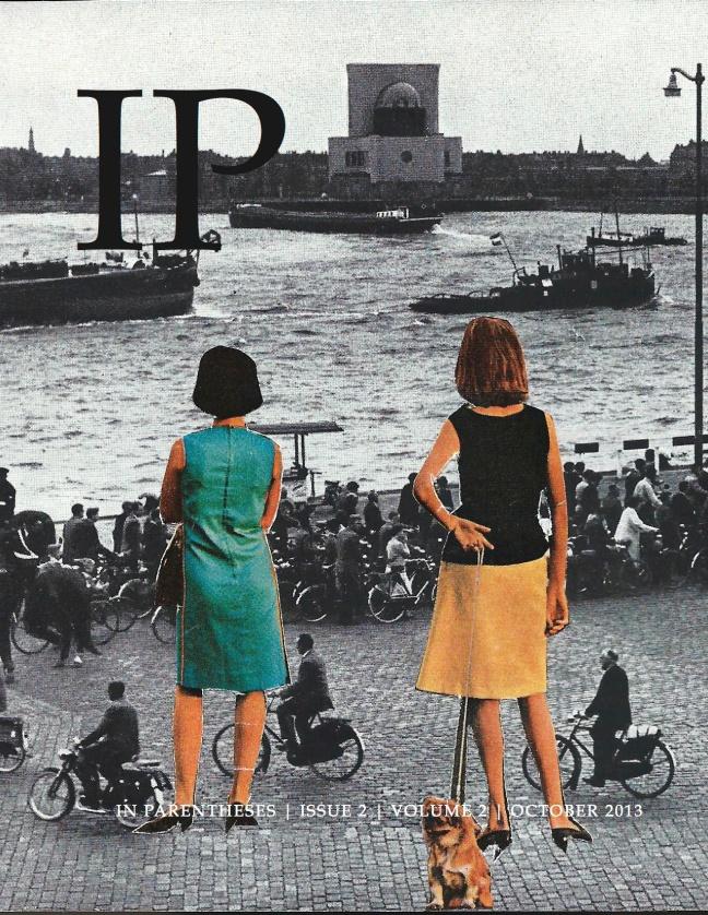 In Parentheses Literary Magazine - October 2013 (artwork: 'Delay' by Magda Dudziak)