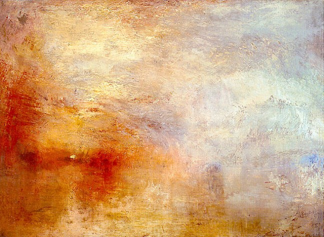 Beautiful Smog by JMW Turner