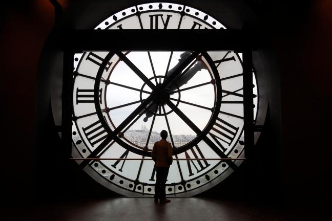 Horloge, Pierre Verdy