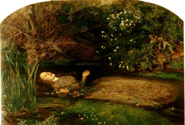 """Ophelia"" by Sir John Everett Millais"