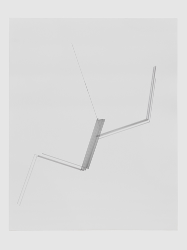 Fold (2012), ink on paper, 24 x 30 inches