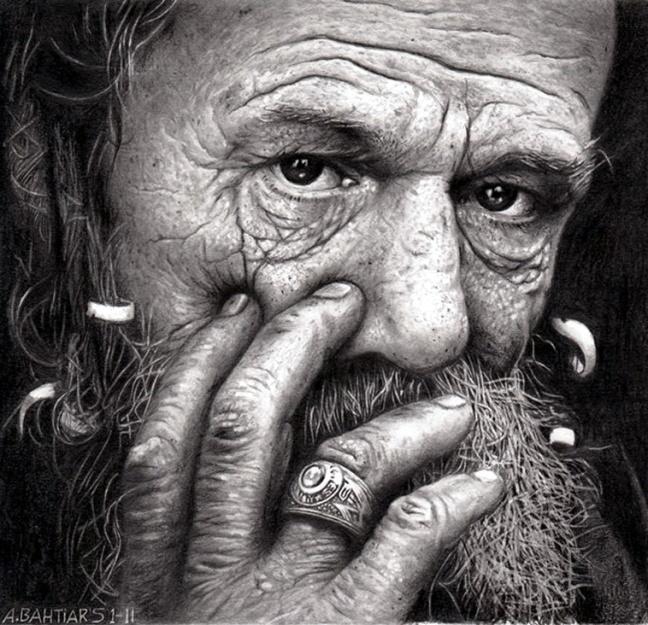 Old Man by Arif Bahtiar