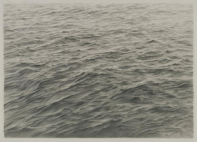 Untitled(Ocean) 1970 bu Vija Celmins