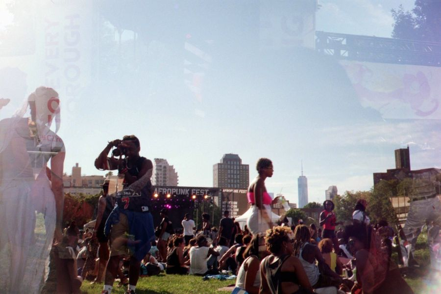 'Afropunk #2'. credit: M. Pitter / In Parentheses