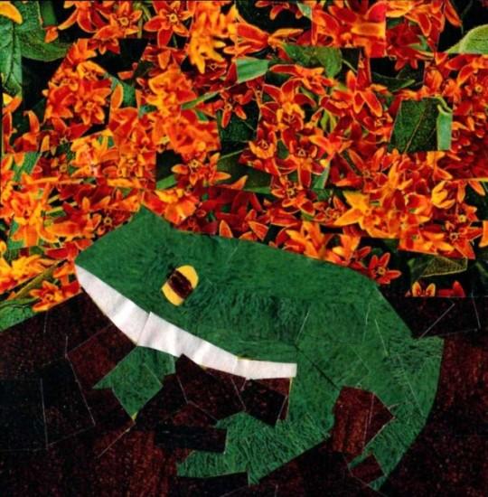 Frog in Orange - Jennifer Frederick / In Parentheses Literary Magazine / Volume 7 Issue 1 / Summer 2021